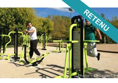 [Projet N°03] Module de musculation et fitness plein air et ouvert à tous