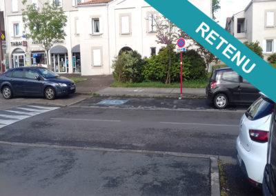 [Projet N°06] Amélioration place de stationnement handicapé