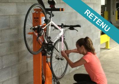[Projet N°13] Borne de réparation vélo en libre service et arceaux