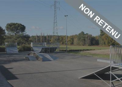 [Non Retenu] Toiture ouverte pour le Skatepark et city stade de Canejan