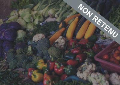 [Non Retenu] Mes légumes du quartier