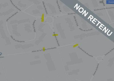 [Non Retenu] Sécurisation des alentours Ecole J.Brel